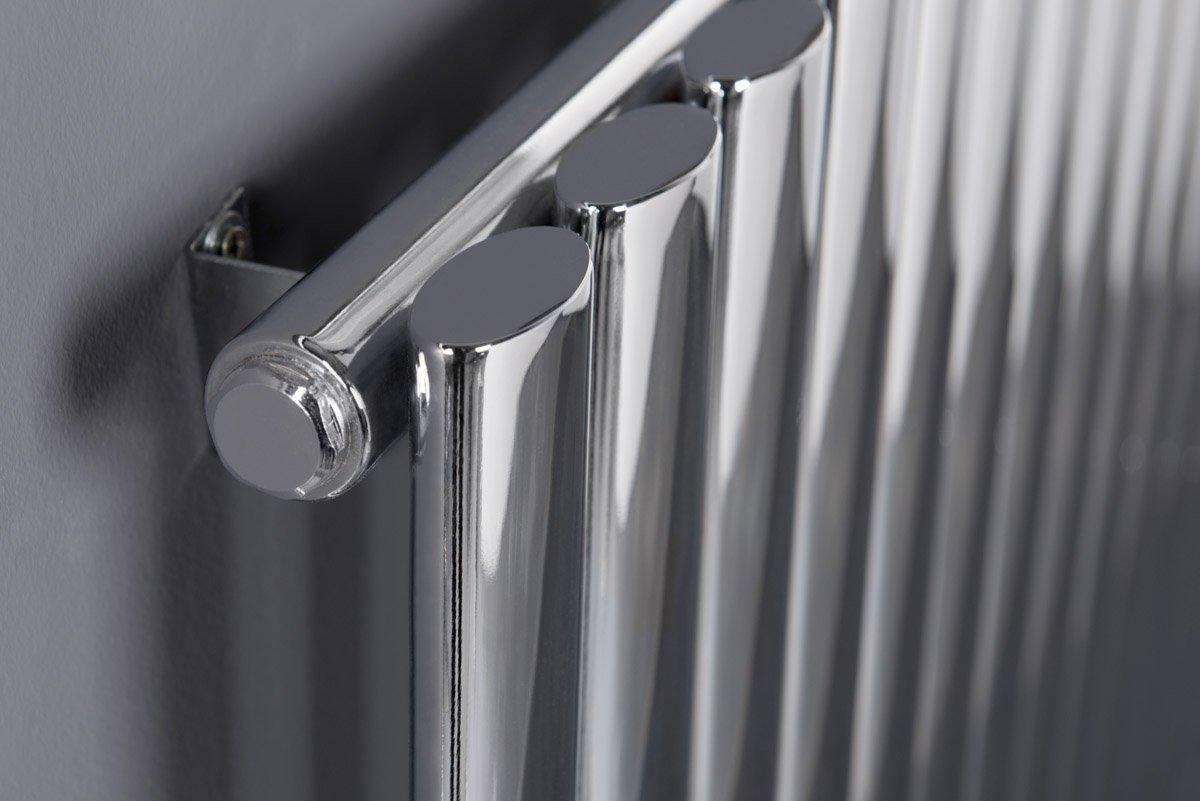 radiateur design horizontal ou vertical tubes ovales et. Black Bedroom Furniture Sets. Home Design Ideas