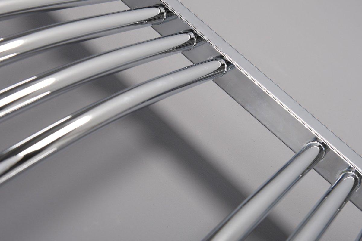Chrome Bathroom Towel Radiators: Bathroom Chrome Electric Ladder Heated Towel Rail Warmer