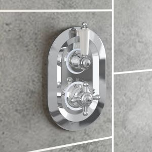 Abbey Thermostatic Concealed Shower Valve