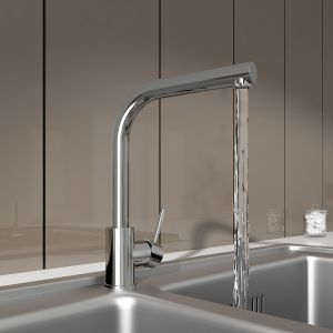 Berga Single Lever Mono Kitchen Sink Rinser Mixer Tap
