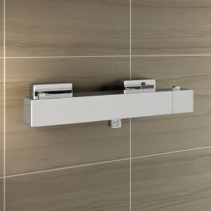 Square Thermostatic Cool Touch Shower Valve