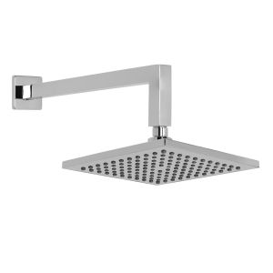 Square Rain Showerhead & Arm