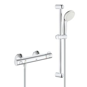 Grohe Grohtherm 800 Thermostatic Shower Mixer 1/2″ with Shower Set