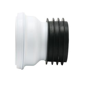 Fluidmaster Euroflo Standard Straight Rigid Toilet Pan Connector