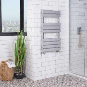 Juva Towel Radiator 950 x 500 - Chrome