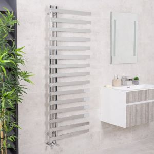 Kristiansund Towel Radiator 1600 x 600 - Chrome