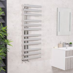 Kristiansund Towel Radiator 1200 x 450 - Chrome
