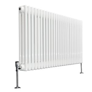 Bern Towel Radiator 600 x 1190 - White - Double