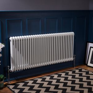 Bern Towel Radiator 600 x 1460 - White - Single