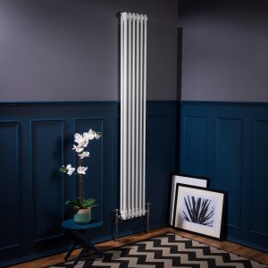 Bern Towel Radiator 1800 x 290 - White - Single