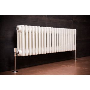 Bern 300 x 1010mm White Triple Horizontal Column Radiator