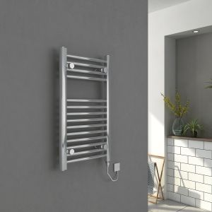 Bergen Towel Radiator 700 x 400 150W Manual - Chrome