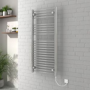 Vienna Towel Radiator 700 x 400 150W Manual - Chrome