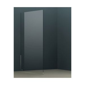Aquariss 890mm Wet Room Shower Panel with 10mm Easy Clean Glass