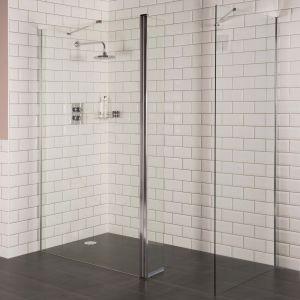 Aquariss 1200 x 900mm Wet Room Shower Enclosure with 8mm Easy Clean Glass