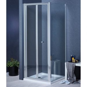 Aqua-I6 Shower Side Panel 900mm x 1850mm - Silver