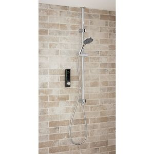 Triton HOME Digital Mixer Shower with Through the Ceiling or wall Riser Rail - Low Pressure