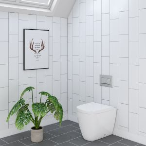 Cordoba Back to Wall Toilet Pan with Soft Close Seat
