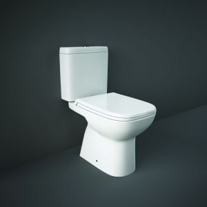Origin Full Access Close Coupled WC Toilet with Soft Close Seat (PP) (Toilet)