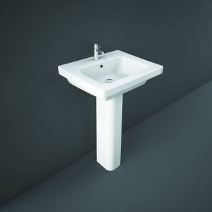 Resort 550mm Basin with Full Pedestal