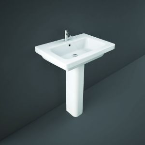 Resort 650mm Basin with Full Pedestal
