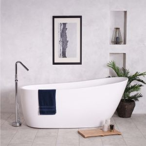 Yang Curved 1730 x 780mm Luxury Freestanding Bath
