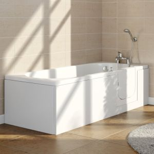 Ramsden 1695mm Right Hand Easy Access Walk In Bath