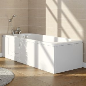 Ramsden 1695mm Left Hand Easy Access Walk In Bath