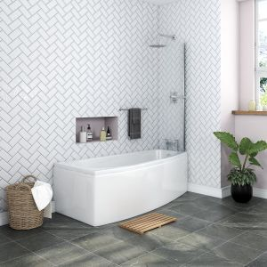 Yang Luxury Space Saver 1695 x 695mm Right Hand Bath