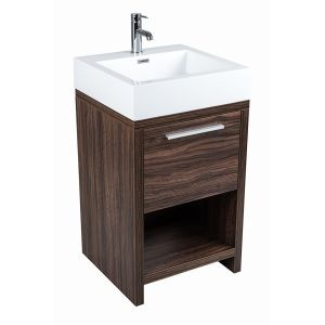 Dunham Walnut 500mm Vanity Unit & Basin