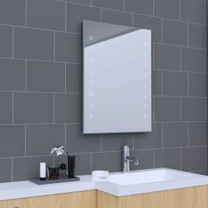 Delta 800 x 600mm Illuminated LED Mirror with Demister & Shaver Socket