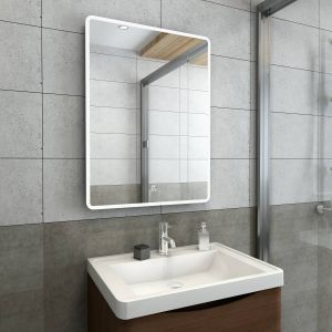 Alpha Illuminated LED Mirror with Demister Pad