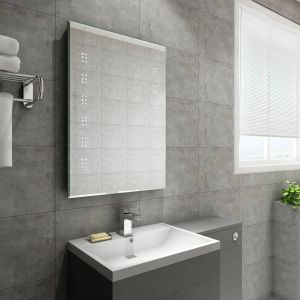 Bally 700 x 500mm Illuminated LED Mirror with Demister