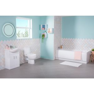 Lima Bathroom Suite with Vanity Unit
