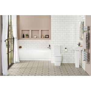 Aria Bathroom Suite with 1700mm Bath