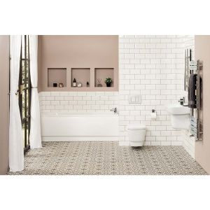 Aria Wall Hung Bathroom Suite with 1700mm Bath