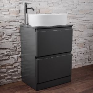 Grey Combination Vanity Unit