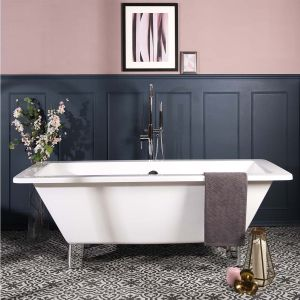 Live 1700 x 750mm Luxury Double Ended Freestanding Bath