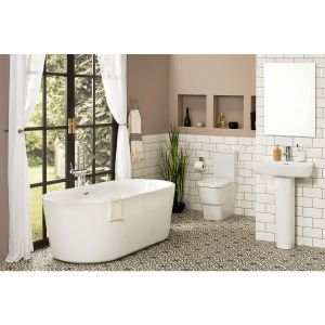 Aria Bathroom Suite with Freestanding Bath