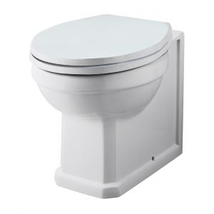 Abbey Traditional Back To Wall Toilet & Soft Close Seat