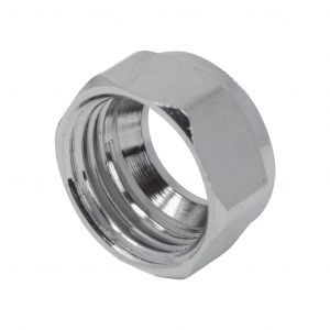 Chrome Compression 15mm Nuts