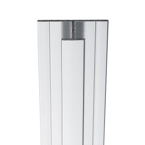 Showerwall Mid Join Profile For Waterproof Wall Panels - Bright Silver