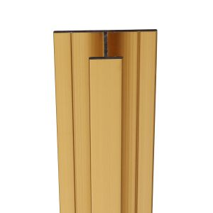 Showerwall Mid Join Profile For Waterproof Wall Panels - Antique Gold