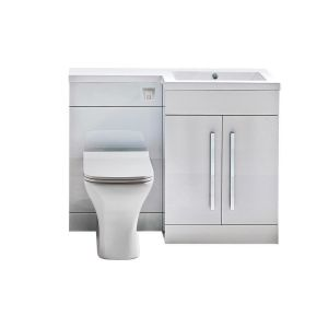 Imperio Rennes- 1100mm Right hand Combination Unit - Gloss White