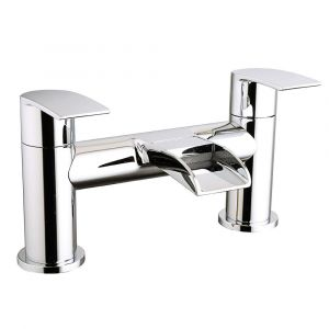 Suva Modern Waterfall Bath Filler Mixer Tap - Chrome