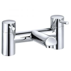 Dalaman Modern Bath Filler Mixer Tap - Chrome
