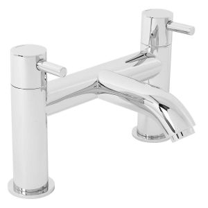 Nairn Modern Bath Filler Mixer Tap - Chrome