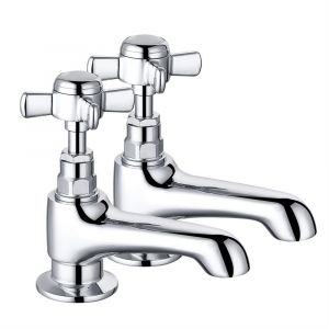Traditional Bath and Basin Tap Chrome